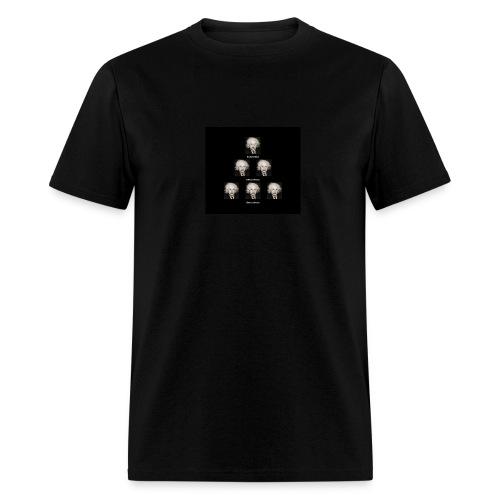 Front & Back Design Little Einstein/3Scientific Truths Shirt  - Men's T-Shirt