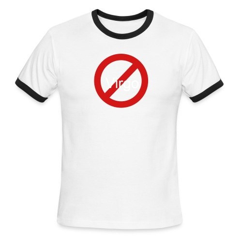 No Virgos - Men's Ringer T-Shirt