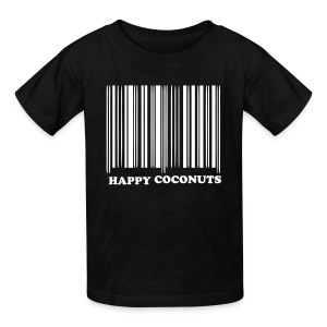 Barcode tshirt -  black - Kids' T-Shirt