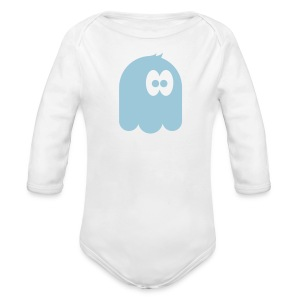 Tiny monster Long Sleeve One Piece - Long Sleeve Baby Bodysuit