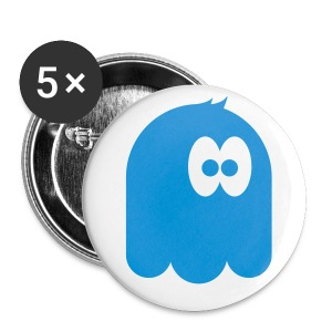 support the Monster on a badge! - Small Buttons