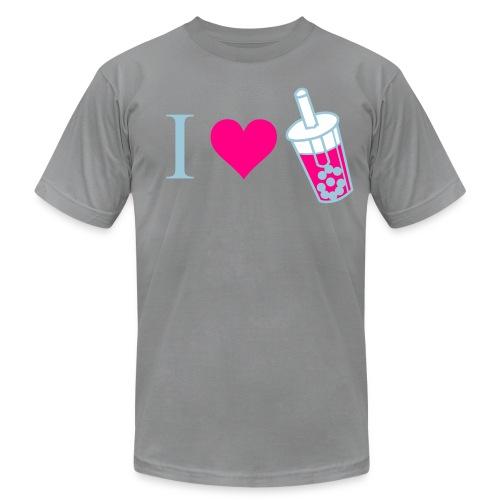 I Love Bubble Tea - Men's Fine Jersey T-Shirt