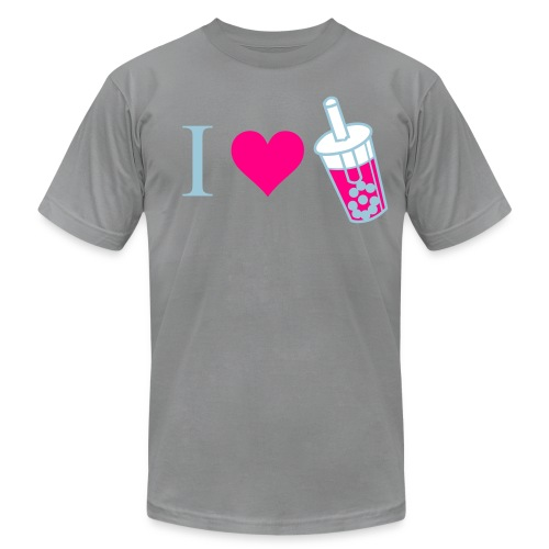 I Love Bubble Tea - Men's  Jersey T-Shirt