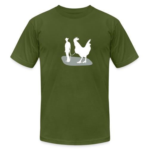 Man and Big Cock - Men's Fine Jersey T-Shirt