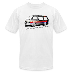 Toyola Mini Van T-shirt Design - Men's T-Shirt by American Apparel