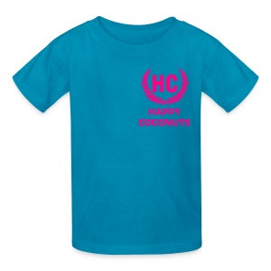 Personalised tshirt - pink - Kids' T-Shirt