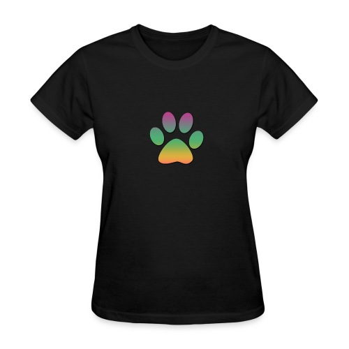 Rainbow Paw - Women's T-Shirt