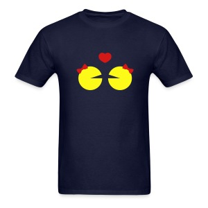 Regular Tee Lesbian Ms.Pacman - Men's T-Shirt