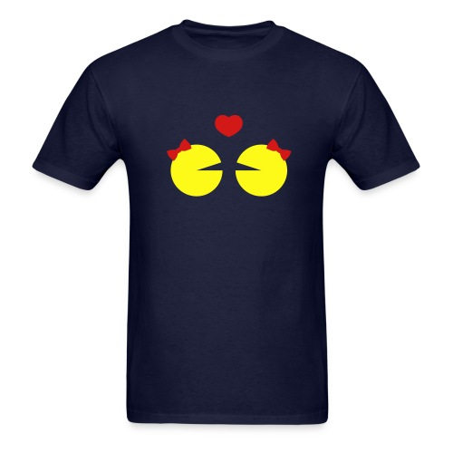Regular Tee Lesbian Ms.Pacman - Men's T-Shirt