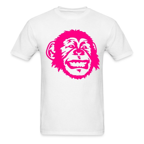 Pink monkey - Men's T-Shirt