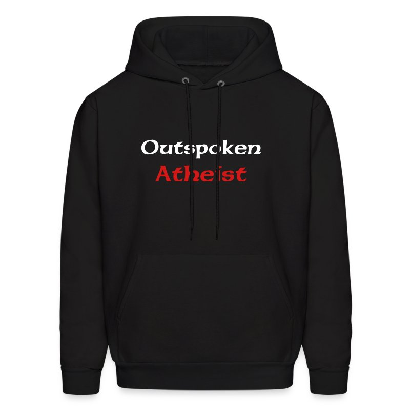 Outspoken Atheist Hooded Sweatshirt - Men's Hoodie