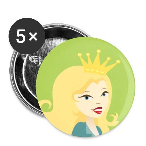 The official Soap Queen Pin - Small Buttons