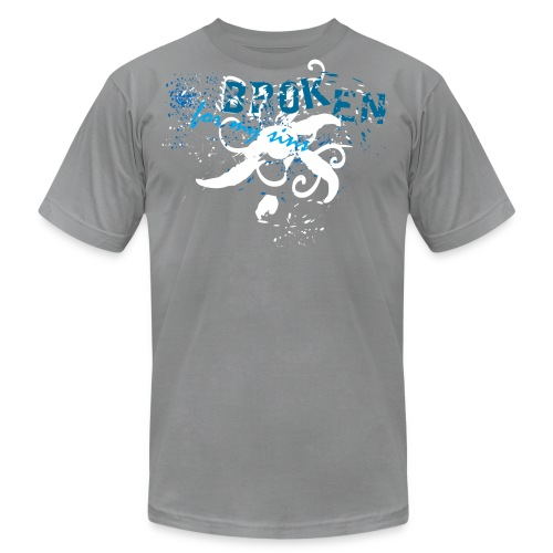 Broken For My Sins (Artistic Christian Series) - Men's  Jersey T-Shirt