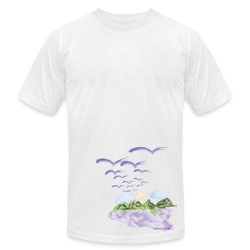 Birds of The Air (Artistic Christian Series) - Men's T-Shirt by American Apparel