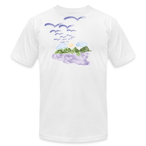 Birds of The Air (Artistic Christian Series) - Men's Fine Jersey T-Shirt