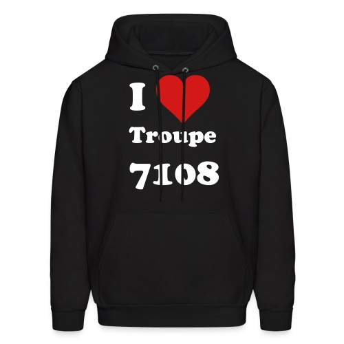I Heart Troupe 7109 Tote - Men's Hoodie