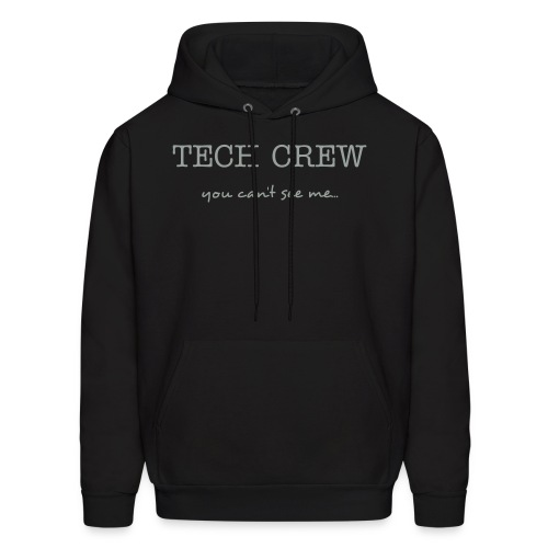Crew: You can't see me... - Men's Hoodie
