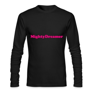 Official MighyDreamer Long Tee - Men's Long Sleeve T-Shirt by Next Level