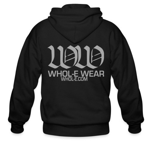 WHOL-E WEAR (Design Sparkles!) - Men's Zip Hoodie