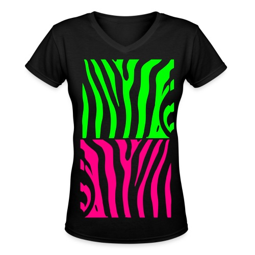 Wild - Women's V-Neck T-Shirt