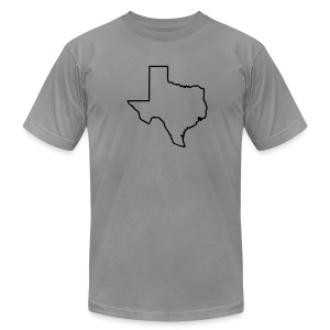 Texas - Men's T-Shirt by American Apparel