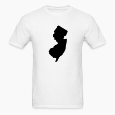White State of New Jersey solid Men