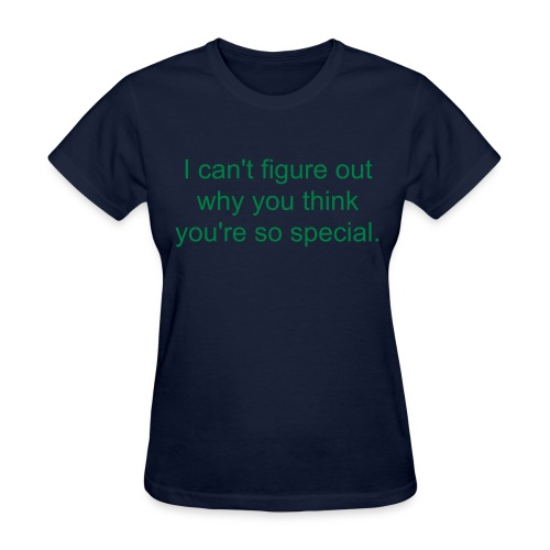 One of life's many questions... - Women's T-Shirt