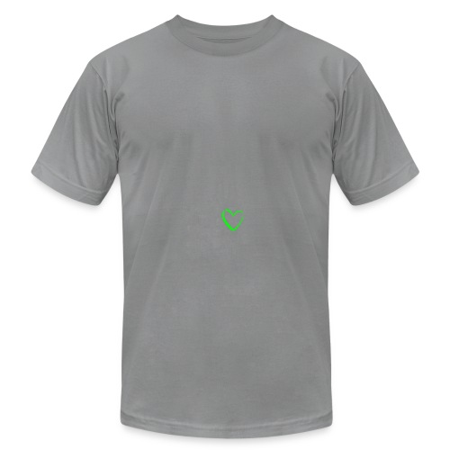 Men's Slate Heart Logo AA T Shirt - Men's Fine Jersey T-Shirt