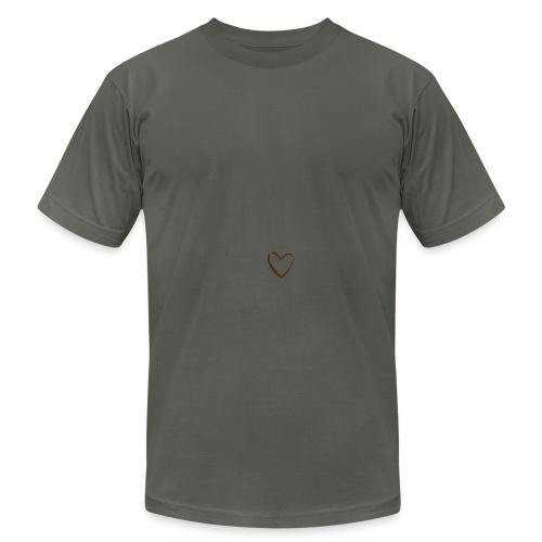 Men's Asphalt Heart Logo AA T Shirt - Men's Fine Jersey T-Shirt