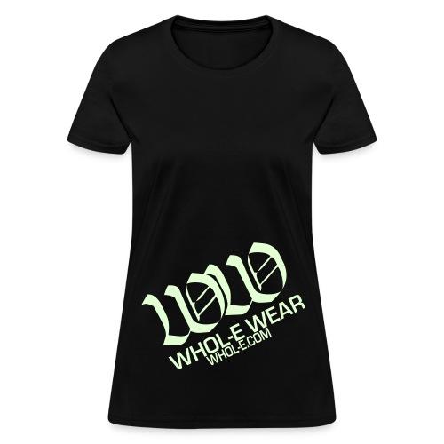 WHOL-E WEAR  (GlowInTheDark) - Women's T-Shirt