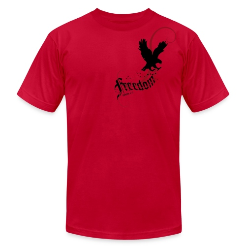 Freedom (Artistic Christian Series) - Men's  Jersey T-Shirt