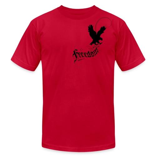 Freedom (Artistic Christian Series) - Men's Fine Jersey T-Shirt