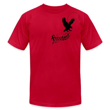 Red Freedom T-Shirts (Short sleeve)