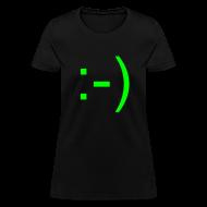 Women's T-Shirts ~ Women's T-Shirt ~ Smiley