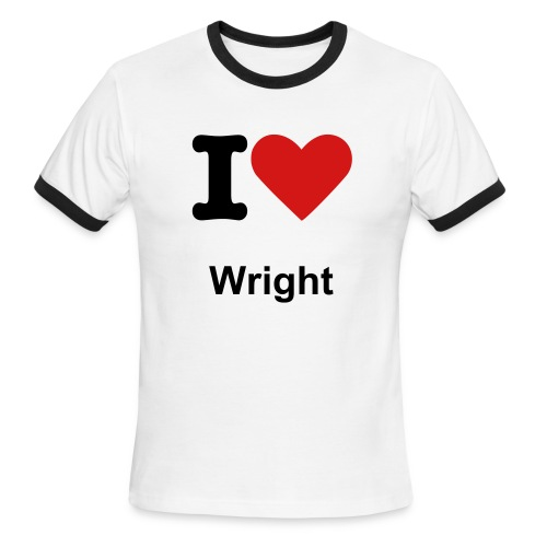 wright - Men's Ringer T-Shirt