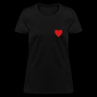T-Shirts ~ Women's T-Shirt ~ Simple Heart
