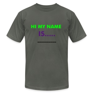 who is this guy? - Men's Fine Jersey T-Shirt