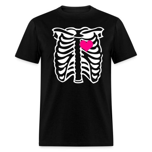 Stolen My Heart - Black T-Shirt - Men's T-Shirt