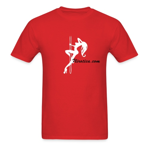 flirotica ( stripper pole ) - Men's T-Shirt