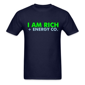 I AM RICH T-SHIRT - Men's T-Shirt