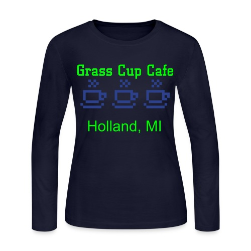 Grass is greener tank - Women's Long Sleeve Jersey T-Shirt
