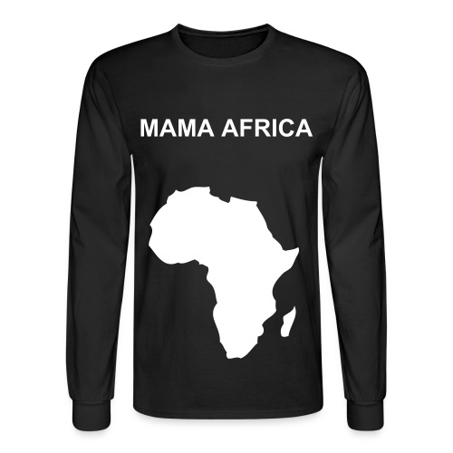 MAMA AFRICA - Men's Long Sleeve T-Shirt