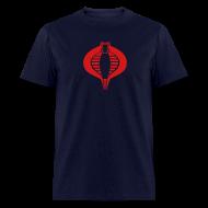 T-Shirts ~ Men's T-Shirt ~ COBRA T-Shirt - Red Flex Design