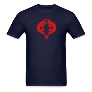 COBRA T-Shirt - Red Flex Design - Men's T-Shirt