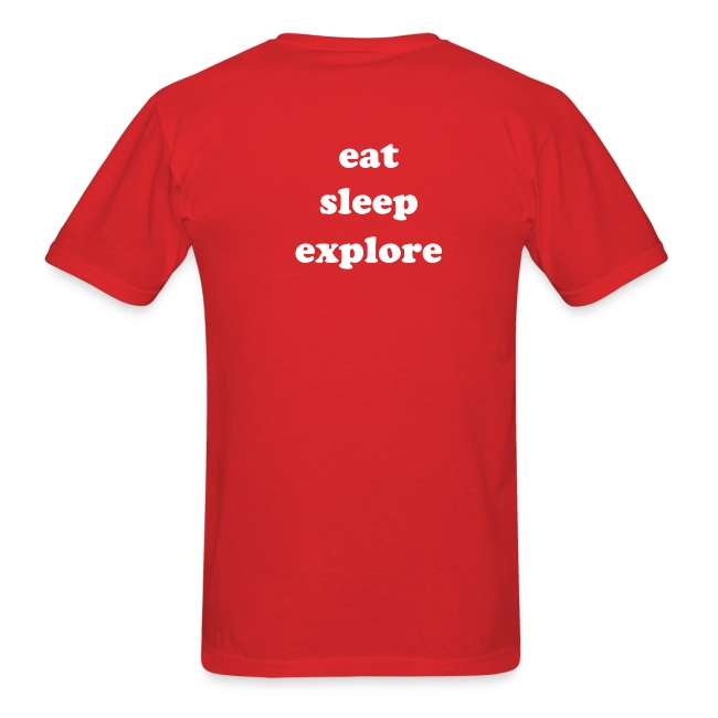 eat, sleep, explore
