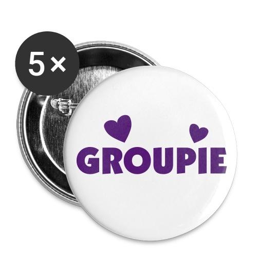 Purple Groupie - Large Buttons