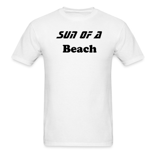 Sun of a Beach BASIC T-Shirt - Men's T-Shirt