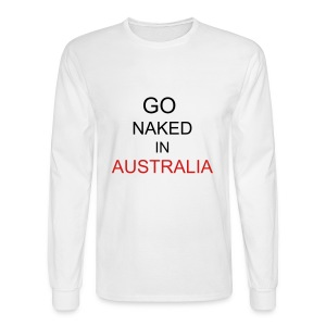 GO AUSTRALIA - Men's Long Sleeve T-Shirt