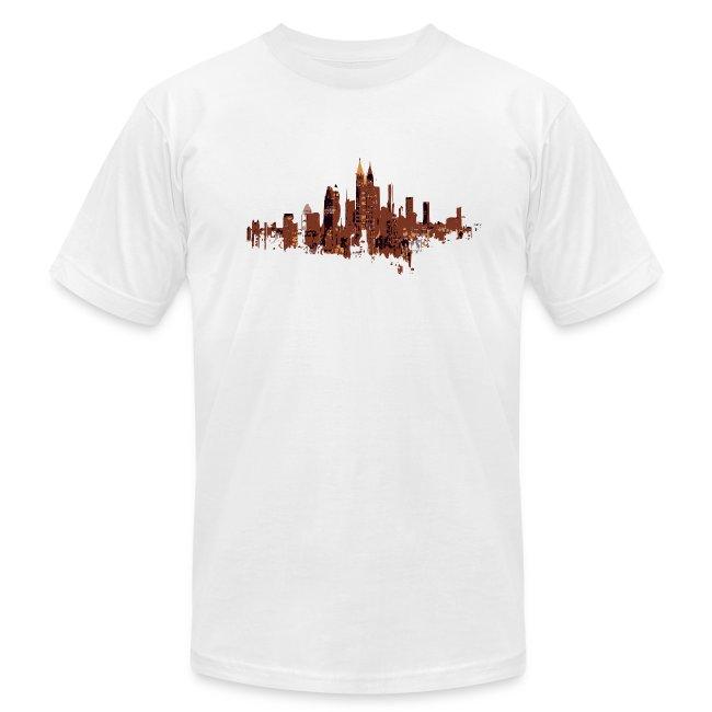 Mens Atlanta Cityscape T-shirt Design | Men's Jersey T-Shirt