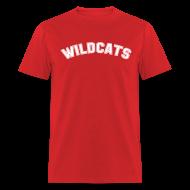 T-Shirts ~ Men's T-Shirt ~ WILDCATS HIGH SCHOOL COSTUME T-Shirt